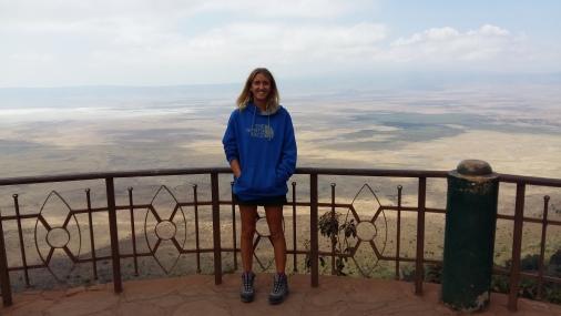 View over Ngorongoro Crater