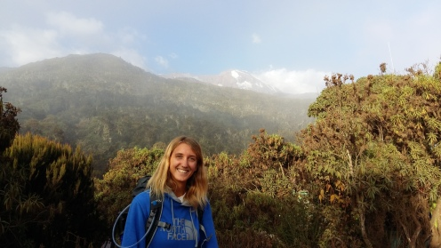 First time we saw Uhuru peak!