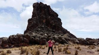 Lava tower @4600m