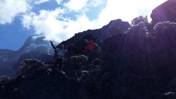 Climbing Baranco Wall