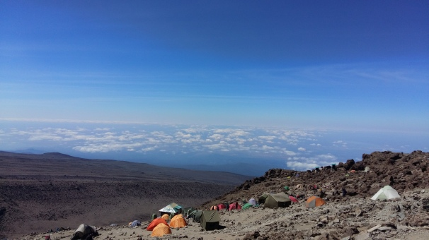 View over Basecamp